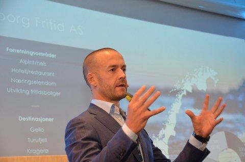 Andreas Martinussen, CEO i Fredensborg Fritid AS, tror på en betydelig økning i behovet for fritidsboliger.