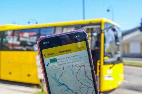 BILLIGERE: Nå kan du kjøpe enkeltbilletter til 20 prosent rabatterte priser gjennom appen Farte. Arkivfoto: Sondre Lindhagen Nilssen
