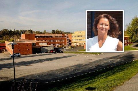 KORONASMITTE: Rektor Hilde Rønning Clausen opplyser at skolen er i gang med å kartlegge hvor mange lærere som må settes i karantene.