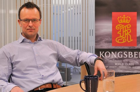 Ronny Lie, kommunikasjonsdirektør i Kongsberg Gruppen, forteller at Kongsberg Maritime slipper å be noen slutte, fordi tilstrekkelig antall ansatte er interessert i sluttavtaler.