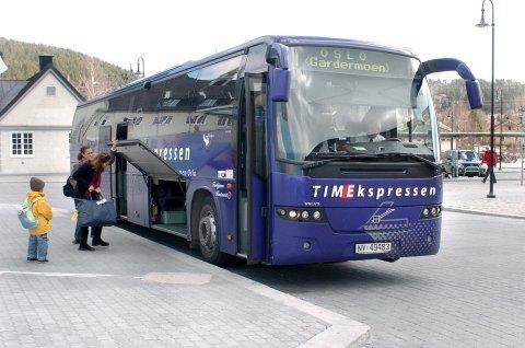 NAVNEBYTTE: Nettbuss Express er det nye navnet.