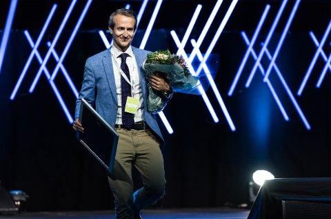 Ådne Skurdal fra Flesberg ble nylig kåret til «NHO Reiselivs Unge Ledertalent» 2018.