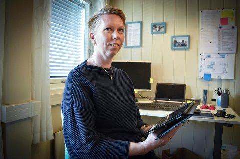 SKOLESJEF: Siri Baklid ser fram til at også Flesberg-elevene skal få iPad, eller læringsbrett som mange kaller det.
