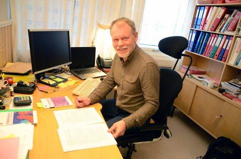 SLUTTER: Svein Foss, personalsjef i Flesberg, går av med pensjon til høsten.