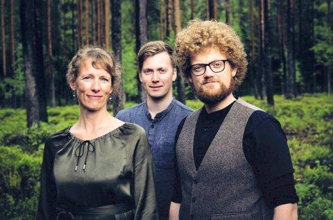 TRIO: Atterljomen spiller i Vatnås kirke lørdag 21. september.