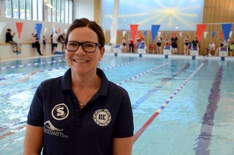 TAPTE INNTEKTER: BK svømming og Nina Arndal tapte flere hundre tusen kroner på avlysningen av landsdelsmesterskapet.