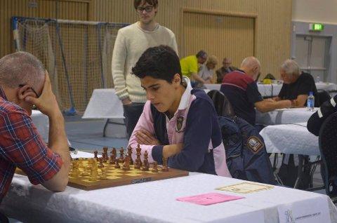 UNG MESTER: 16-åringen Aryan Tari sikret seg NM-tittelen i sjakk, som den tredje yngste i historien.