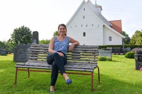 OVERLYKKELIG: Hanne Marie Frostlid la ut en video på sin facebookside, der hun gråter av glede over vedtaket til Kirkemøtet om si ja til å vie homofile i kirken.