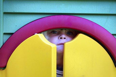 TIL DEM SOM JOBBER I BARNEHAGE: Therese Halle Isene har skrevet et dikt som en hyllest til alle barnehageansatte.