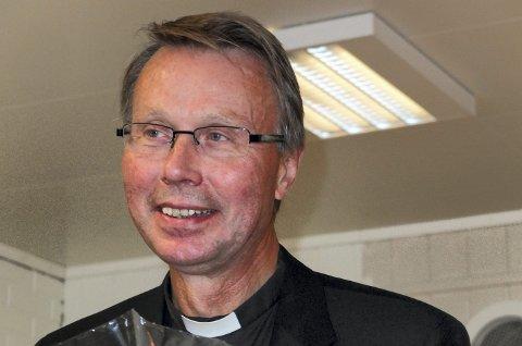 Fri: For første gang på 36 år har prostiprest i Lofoten, Harold Holtermann, fri på julaften. Nå ser han fram til å tilbringe julen sammen med familien. Foto: Arkiv