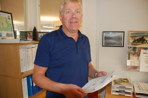 Reagerer: Ruben Jensen  i Nordnorske entreprenørers Serviceorganisasjon (NESO) mener resultatet av kontrollen på byggeplasser i Lofoten er nedslående.