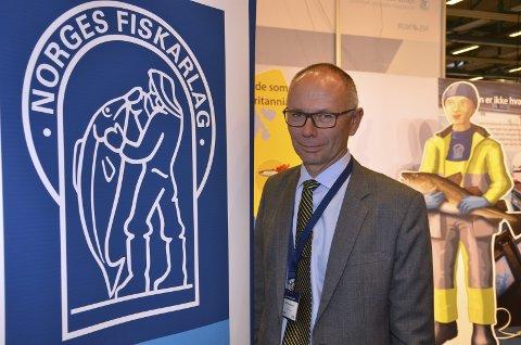 VIKTIG: Leder Kjell Ingebrigtsen i  Norges Fiskarlag sier at lofotsesongen er den viktigste for svært mange.