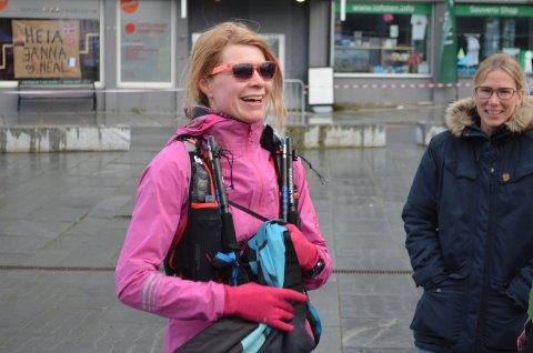 ENDELIG I MÅL: Silje Fismen fikk sin revansje da hun ikke bare fullførte, men vant 100 miles for kvinner.