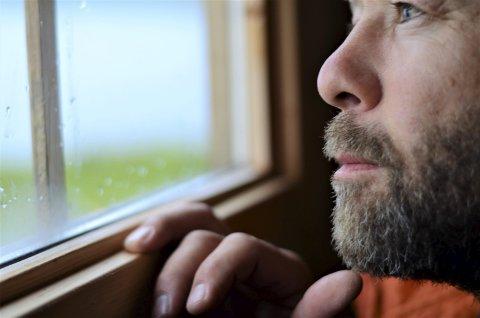Hva venter?: I ei hvilebu i Trøndelag før jeg legger sivilisasjonen bak meg, og starter turen.Foto: Privat