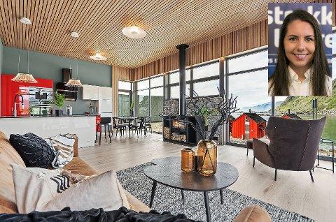 Sandra Jakobsen i Eiendomsmegler 1 har solgt det som ifølge meglerne er tidenes dyreste fritidsbolig i Lofoten.