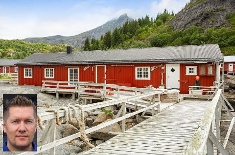 Kent Kristoffersen har solgt denne dobbeltrorbua i Nusfjord.
