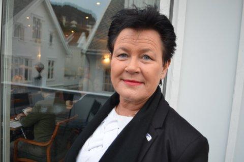 DÅRLIG: Stortingsrepresentant Ingunn Foss (H) må konstatere dårlige målinger på meningsmålingen for juni.