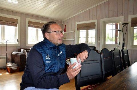 Eirik Torbjørnsen har tilbrakt store deler av 2020 på hytta på Skei.