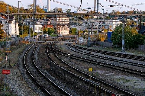 Den nye jernbanestasjonen i Moss skal bli 1000 meter lang
