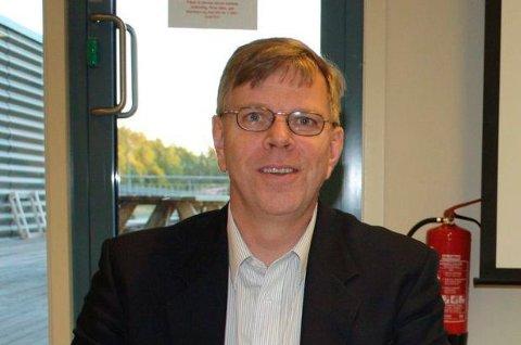 KAN VIE: Prosjektleder Hans Reidar Ness får vigselsrett fra nyttår.
