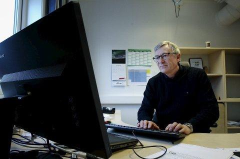 FORTSATT I RUTE: Prosjektsjef Jarle Rasmussen i Bane NOR.