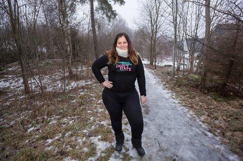 SELVSIKKER: Renate Kleven har de siste årene lært seg å bli glad i egen kropp. På Instagram deler hun bilder av prosessen med tusenvis av følgere.