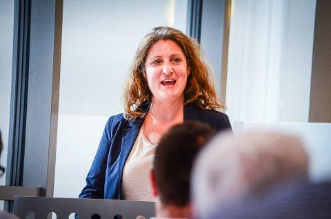 SKEPTISK: Louise Brunborg-Næss er skeptisk plan- og miljøutvalgets forslag om å tilrettelegge for bygging av 25 boliger på Skogly.
