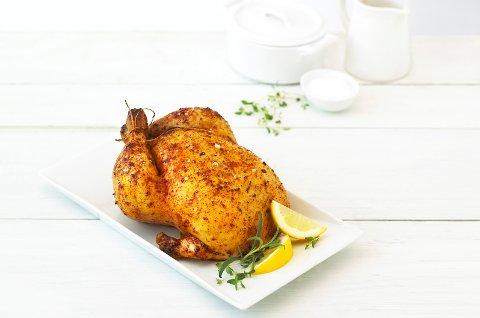 HVITT KJØTT: I 2019 ble det solgt over 24 000 tonn kylling.