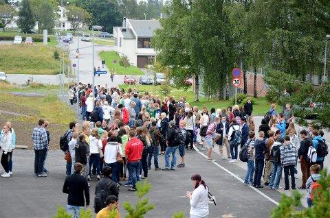 INNTAK: Flere tusen elever i Follo og Moss-skoleregionen har fått tilbud om skoleplass.