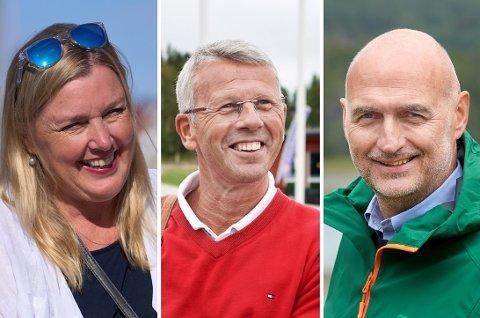SPENNENDE: På Norstats måling for NRK er Høyre ute og Sp og Ap tar to plasser hver i det nye Stortinget. Spørsmålet tre dager før valget er om Elin Agdestein (H) drar jokeren på bekostning av enten Terje Sørvik (Ap) eller Per Olav Tyldum (Sp).