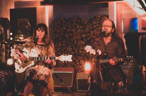 Ida Jenshus og Alexander Pettersen fra streamingkonserten fredag.