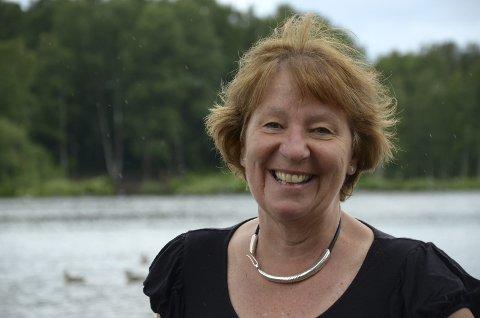 OSLOPATRIOT: Som ordfører i Oslo har ikke Marianne Borgen mye fritid, men jobben gir henne energi. Et intervju med lokalavisen ved Østensjøvannet tar hun seg gjerne tid til. Foto: Nina Schyberg Olsen