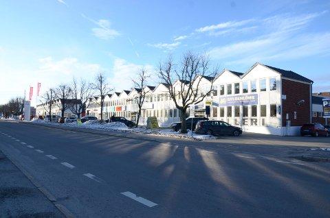 LANDEMERKE: De karakteristiske saltakene foreslås integrert i den nye bygningsmassen. Arkivfoto
