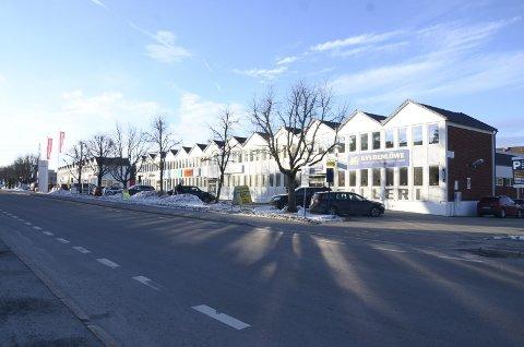 CECILIE THORESENS VEI: Det er store vyer for det gamle industribeltet langs Cecilie Thoresens vei 1–15. MAD Arkitekter kommer til åpent møte mandag for å orientere om planene. Arkivfoto