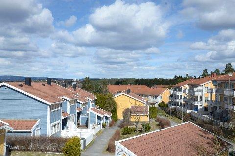 Raskest salgstid hadde Oslo med 24 dager. Bildet er fra Mortensrud. Arkivfoto: Kristin Trosvik