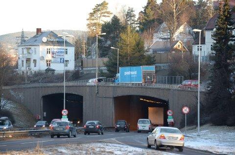 FØR: Brynstunnelen slik den så ut før rehabiliteringen startet på nyåret 2016.