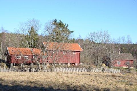 BESØKSGÅRD: Denne gamle gården ved Østmarka i Bydel Østensjø ønskes omgjort til besøksgård. Arkivfoto