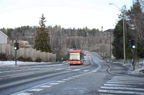 Østensjøveien er en av veiene som mange synes saltes for mye, og nå ber lokalpolitikerne om å få en redegjørelse fra Bymiljøetaten og byrådet. Arkivfoto: Nina Schyberg Olsen