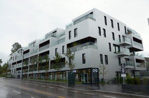 SÆTER TERRASSE: Fortjener denne bygningen å være blant de nominerte i Oslo bys arkitekturkonkurranse 2018? Arkivfoto: Nina Schyberg Olsen