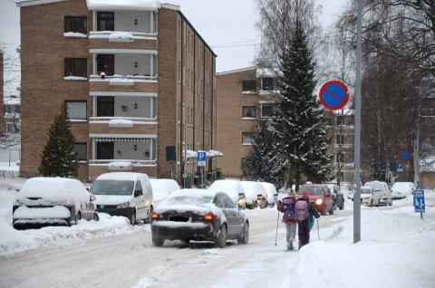 BØLERLIA: Mannen som utga seg for å være fra apoteket tok bankkortet til en eldre dame i Bølerlia. Arkivfoto: Nina Schyberg Olsen