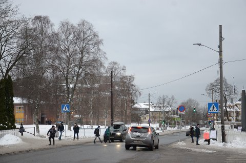 NORDSTRANDVEIEN: Bymiljøetaten foreslår å senke fartsgrensen i Nordstrandveien fra Sæter ned til Steinerskolen, samt bygge om/flytte fartshumpene på strekningen.