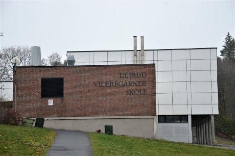 ULSRUD SKOLE: Skolen mottok trusler fra en av skolens elever. Arkivfoto: Nina Schyberg Olsen