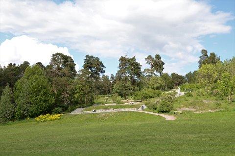 Debattanten synes det er synd at dette området nedenfor trappene ved Ekebergparken nå kalles Hundesletta og ikke det historiske Svenskesletta.