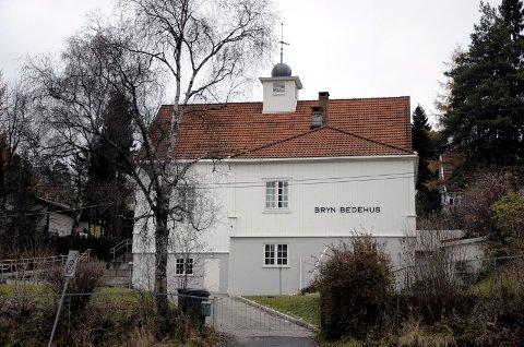 BRYN BEDEHUS: Ifølge NRK skal Philip Manshaus i påsken ha besøkt Bryn bedehus, der de læstadianske menigheter har sine samlinger i Oslo. Arkivfoto