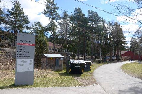 HJERTESONE: Både Prinsdal barneskole og naboen Hauketo ungdomsskole blir med i Hjertesone-prosjektet for trygg skolevei. Arkivfoto: Nina Schyberg Olsen