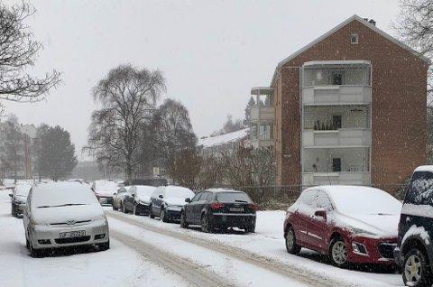 Lambertseter er et av områdene i Bydel Nordstrand med mye gateparkering.