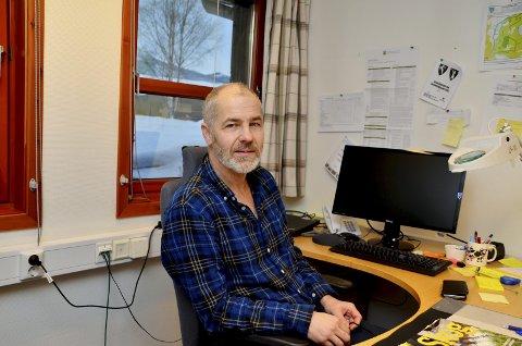Orienterte: Skogbrukssjef i Sel, Jan Teigen, orienterte nylig formannskapet i Sel om hvordan avvirkningen i Sel kan økes.