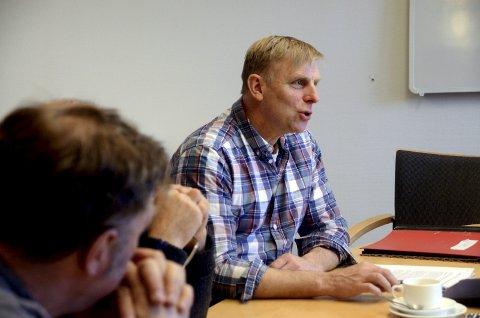 Private: Harald Sve Bjørndal (BL) meiner kommunen må vere opne for at private aktørar kan kome inn og renovere bassenget for så å leige det ut att til svømmeundervisning.
