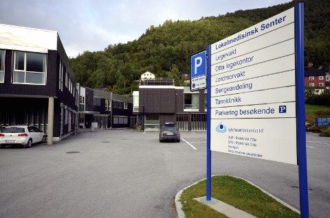 OMbygging: Det er behov for ombygging ved Nord-Gudbrandsdal lokalmedisinske senter.  (Foto: Arkiv)