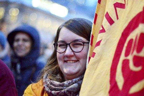 Møter Motstand: Nora Uvsbakk i landsstyret for Kvinnefronten reagerer kraftig på 8. mars arrangementet på Otta.Foto: Privat
